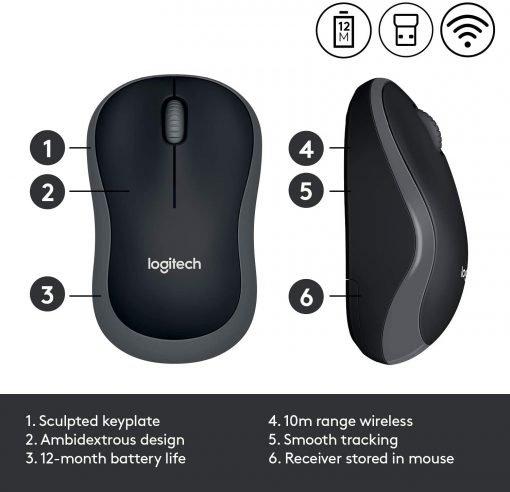 Logitech Wireless Mouse M185 3