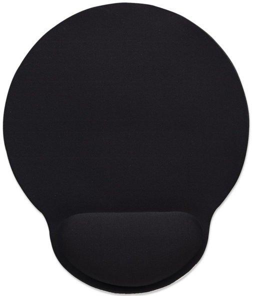 Manhattan wrist-rest gel mouse pad - black 2