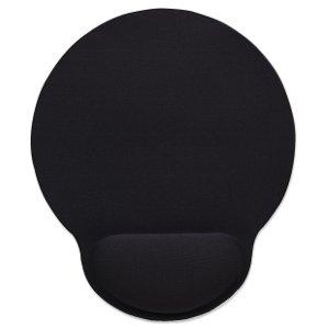 Manhattan wrist-rest gel mouse pad - black 1