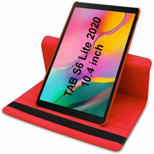 Samsung Galaxy Tab S6 Lite Case (Red) 2